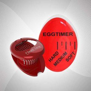 Mevis line perfect boiled egg timer with slicer